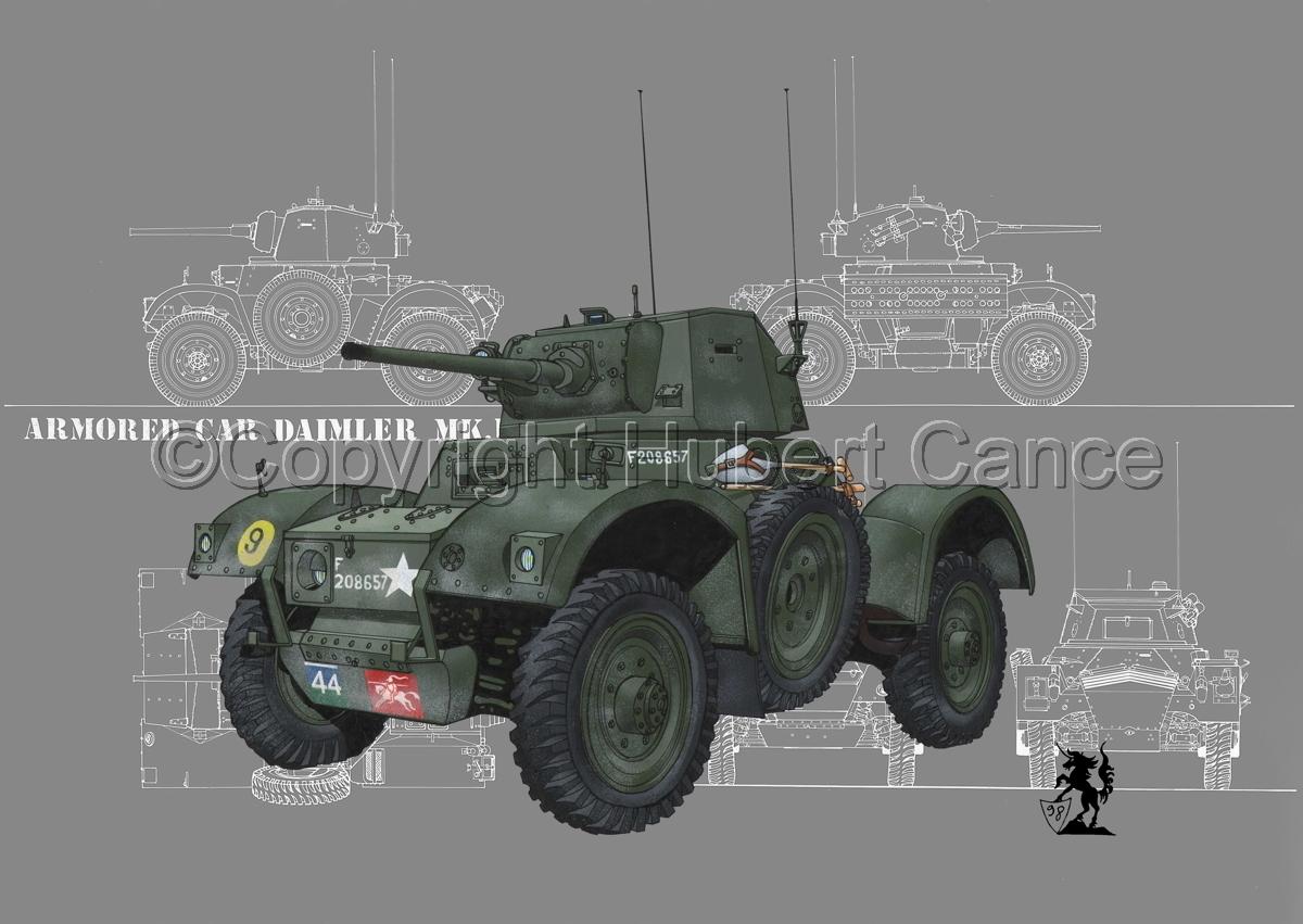 Daimler Mk.I Armoured Car #4 (large view)