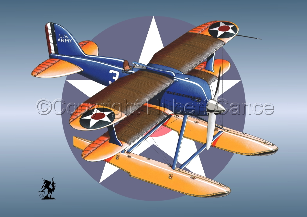 Curtiss R3C2 Army Racer (Roundel) (large view)