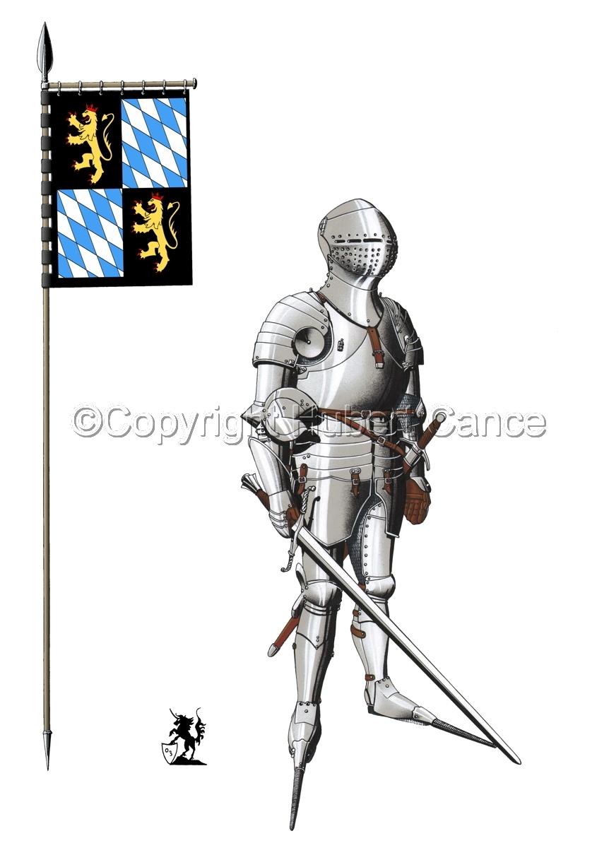 Kurfursft Friedrich I von der Pfalz (Banner #1) (large view)