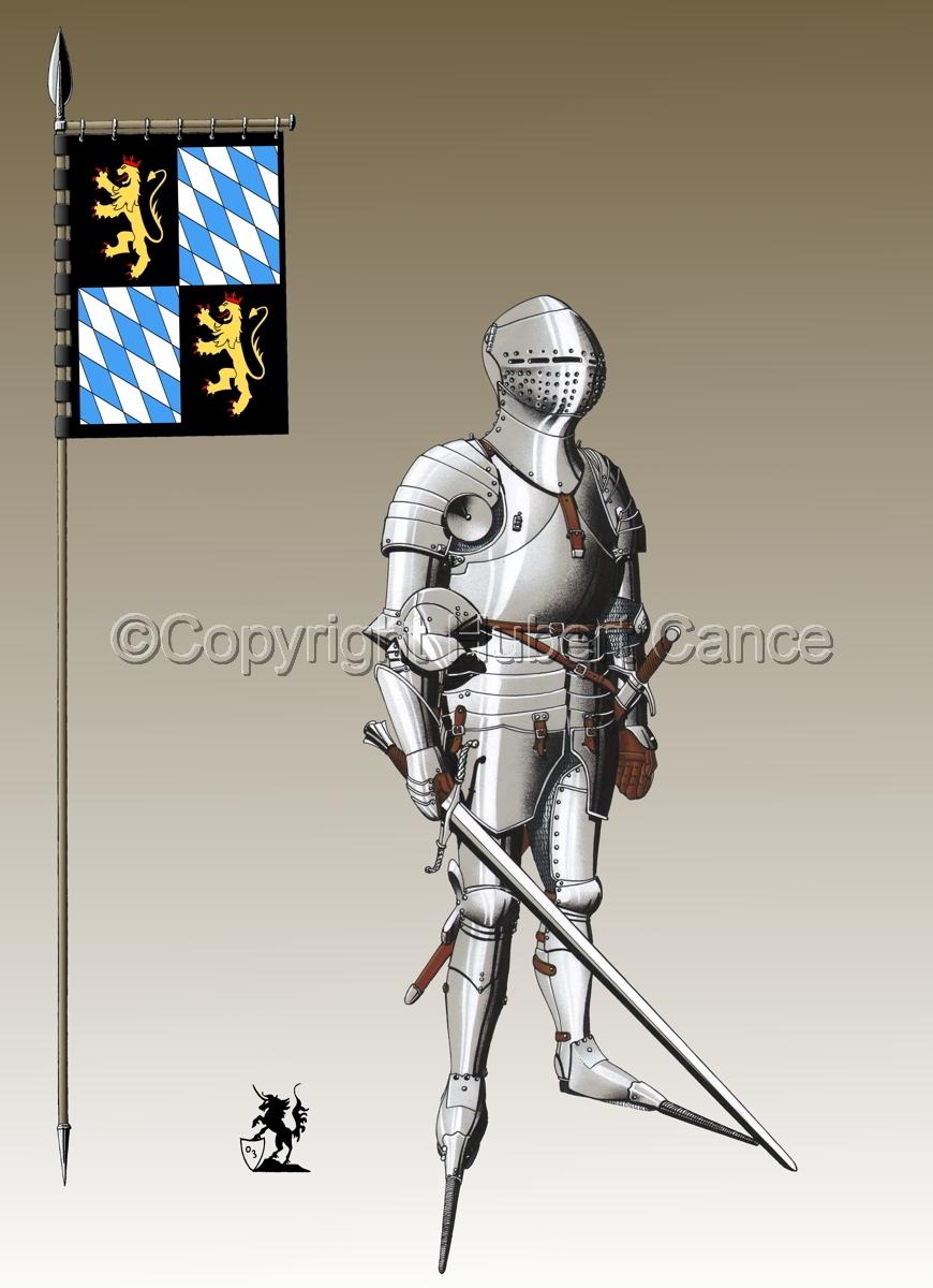 Kurfursft Friedrich I von der Pfalz (Banner #3) (large view)