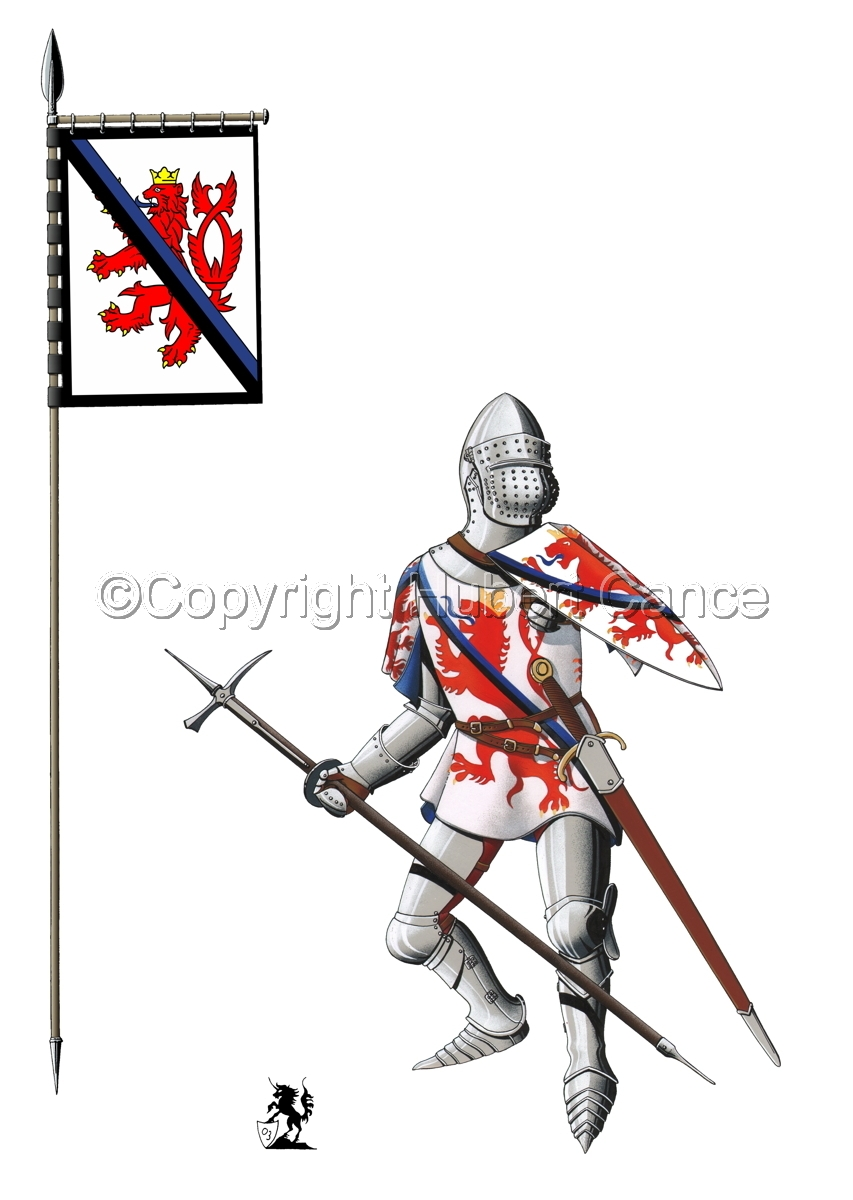 Jean of Luxembourg (1466) (Banner #1) (large view)