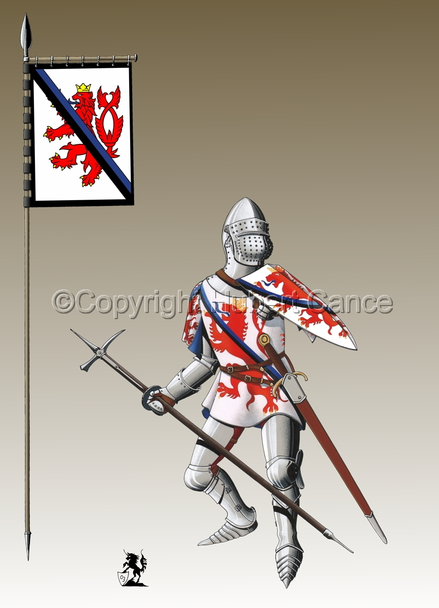 Jean of Luxembourg (1466) (Banner #3) (large view)