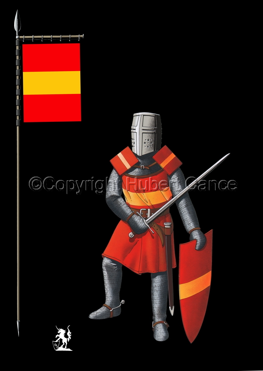 French Knight (XIIIth. Century) (Banner #2) (large view)