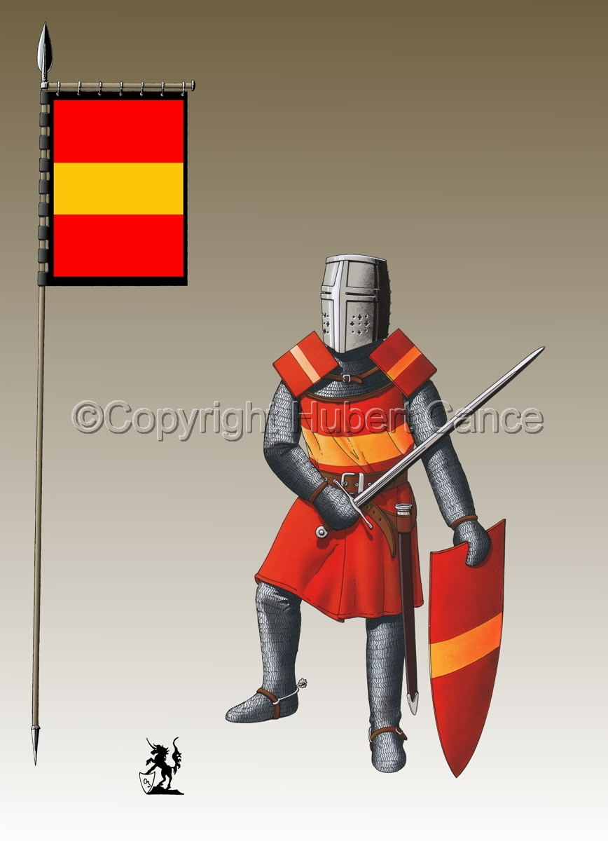 French Knight (XIIIth. Century) (Banner #3) (large view)