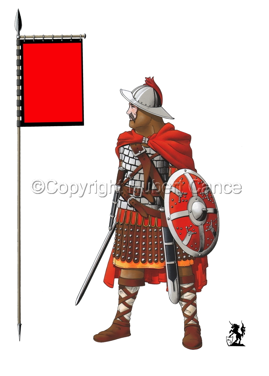 Guard of Emperor Carolus Magnus (800) (Banner #1) (large view)