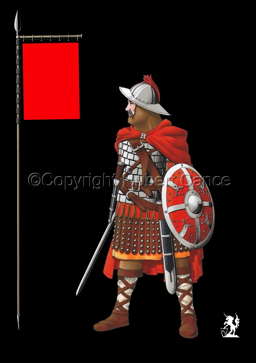 Guard of Emperor Carolus Magnus (800) (Banner #2) (large view)