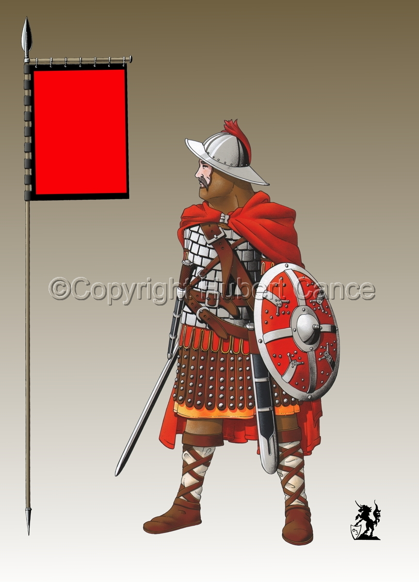 Guard of Emperor Carolus Magnus (800) (Banner #3) (large view)