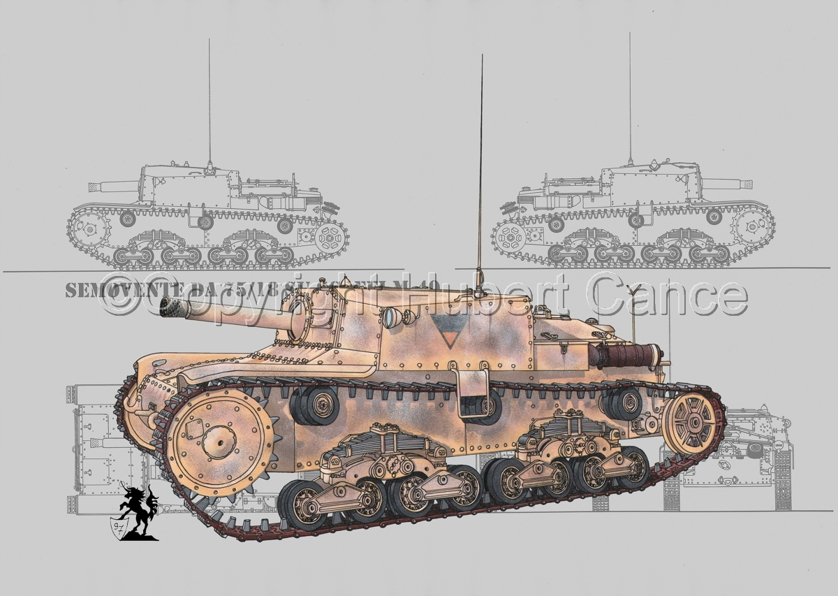 Semovente da 75/18 M13/40 (Blueprint #2) (large view)