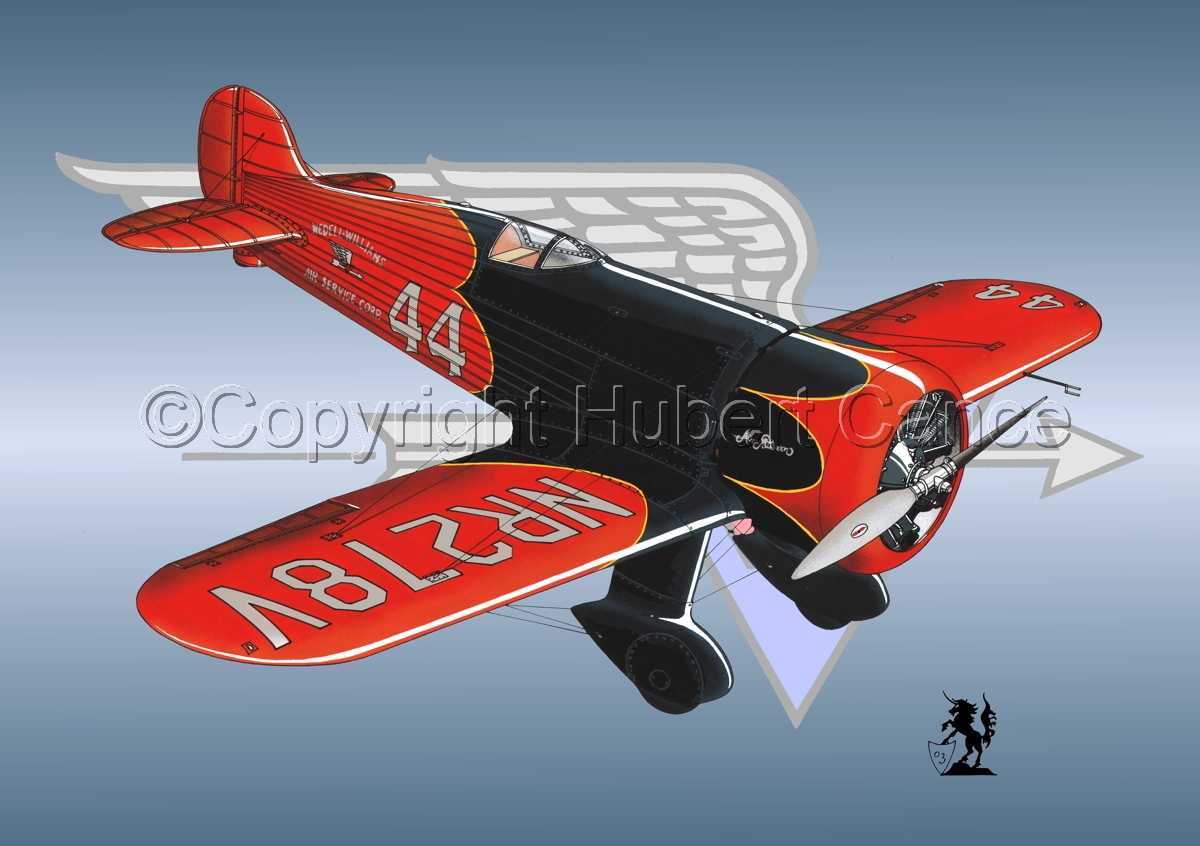 Wedell Williams R44 Racer (Logo #1) (large view)