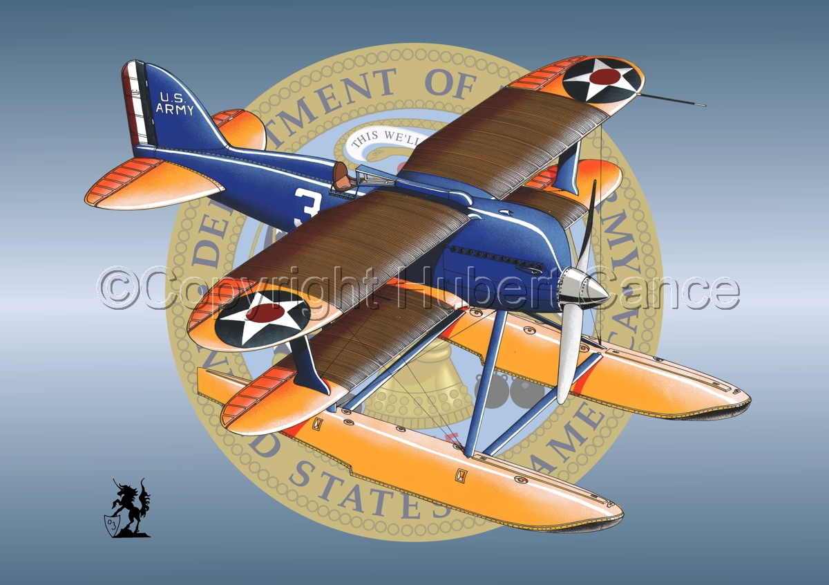 Curtiss R3C2 Army Racer (Insignia #1) (large view)