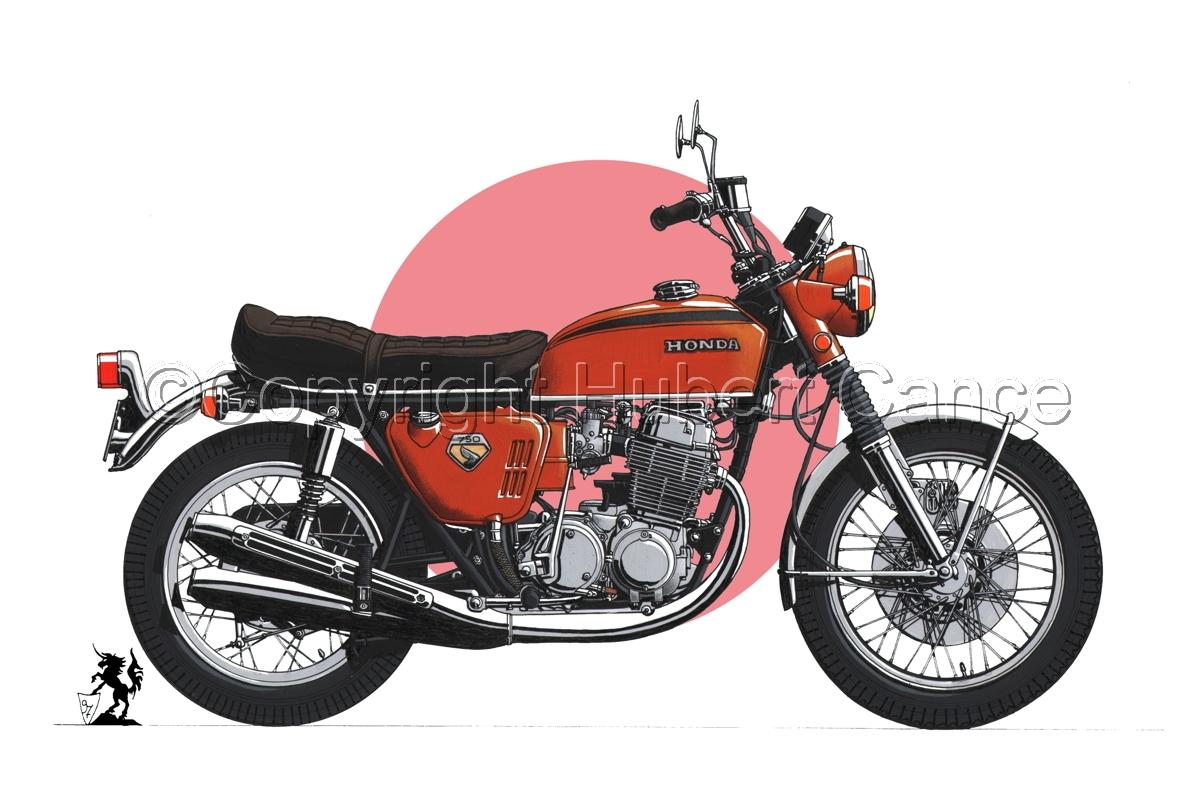 Honda CB750 Four (Flag #1) (large view)