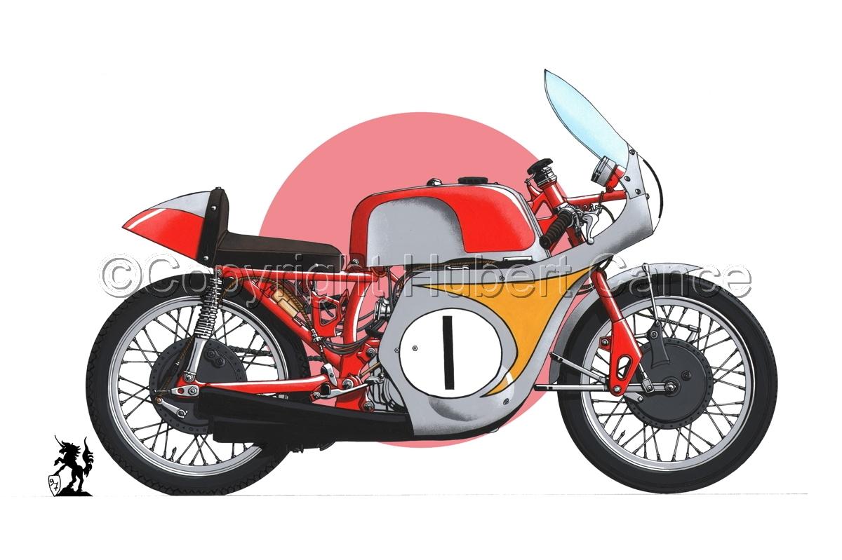 "Honda ""Mike Hailwood"" (Flag #1) (large view)"