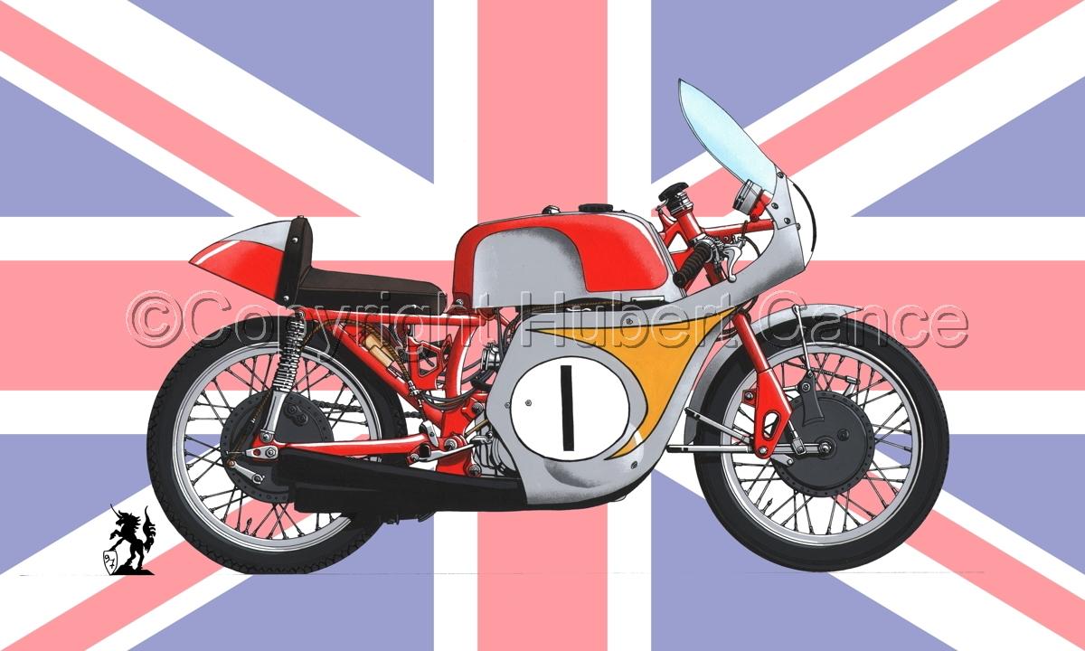 "Honda ""Mike Hailwood"" (Flag #2) (large view)"