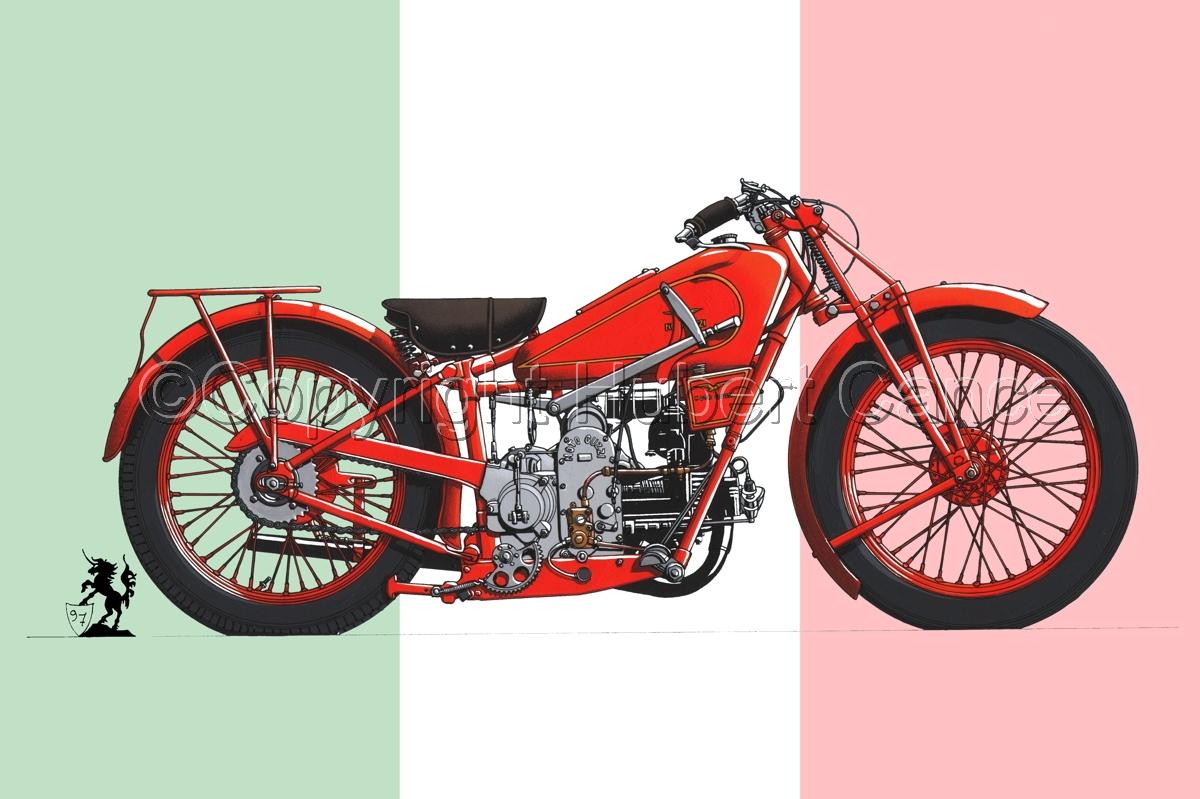 Moto Guzzi 500S (Flag #1) (large view)