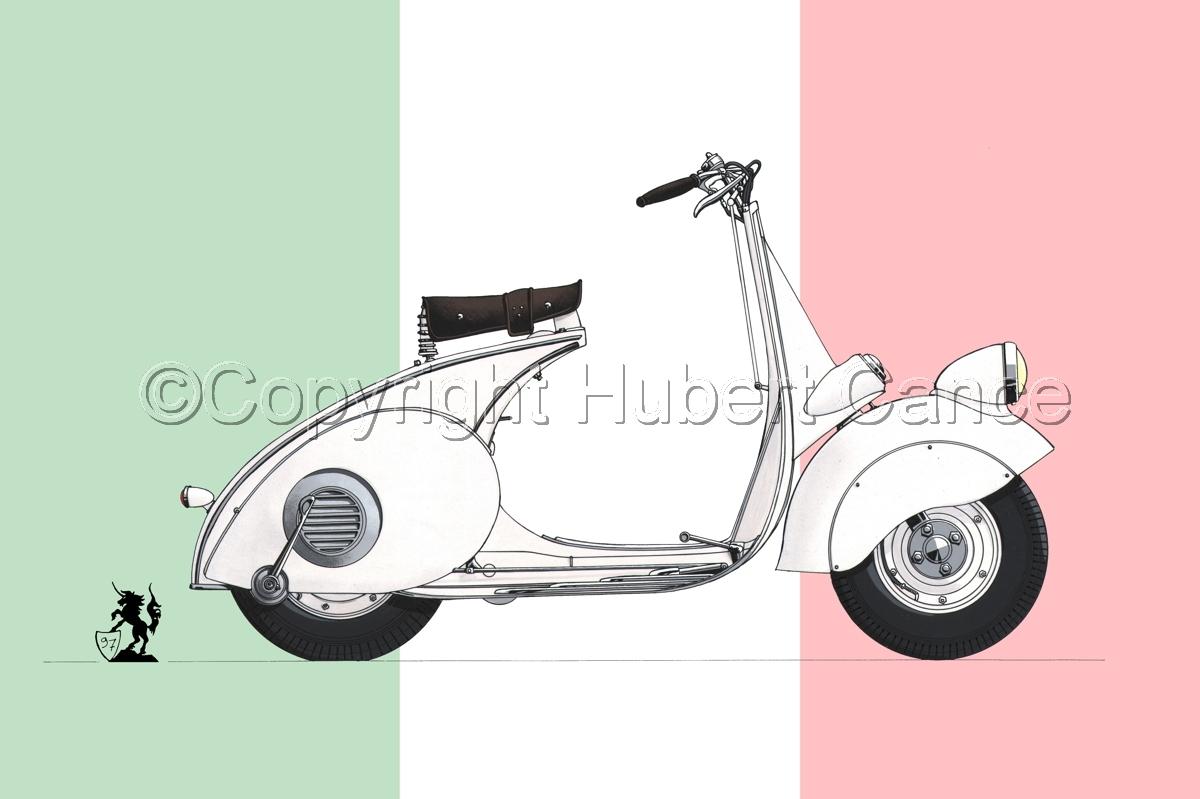 """Piaggio """"Vespa"""" (Flag #1) (large view)"""