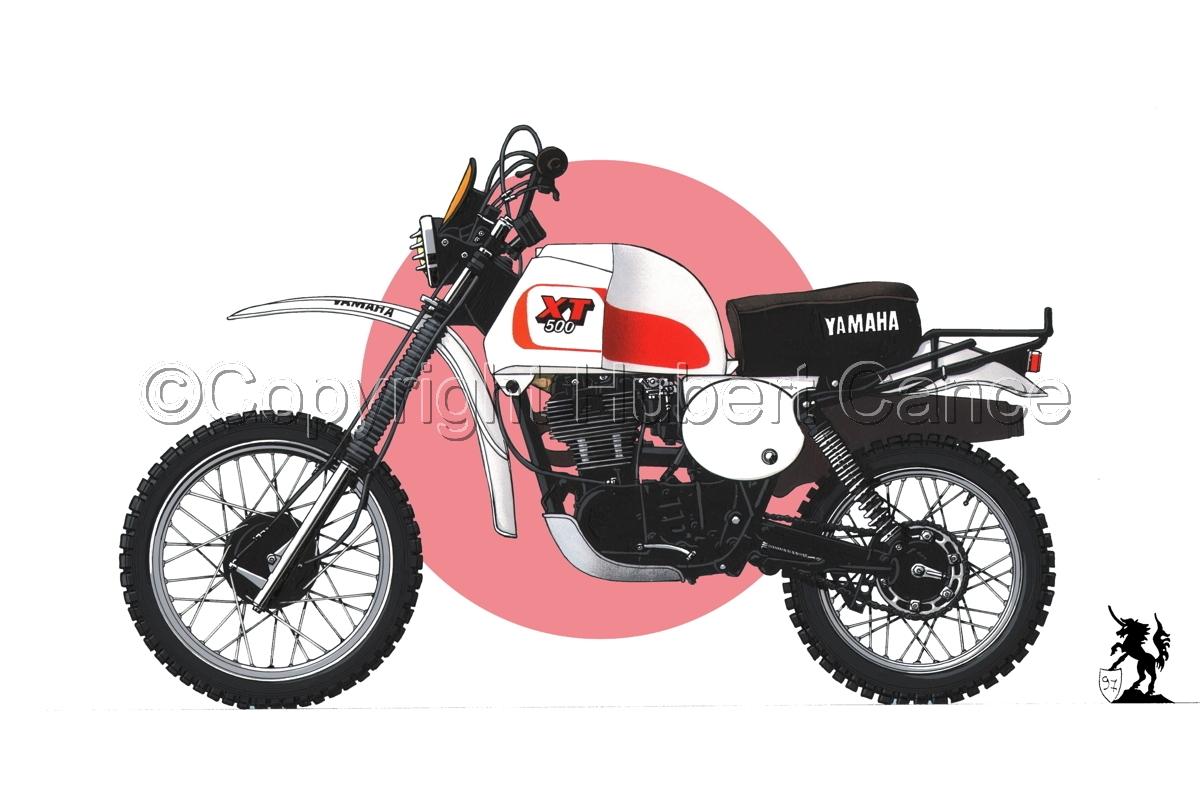 Yamaha XT500 (Flag #1) (large view)