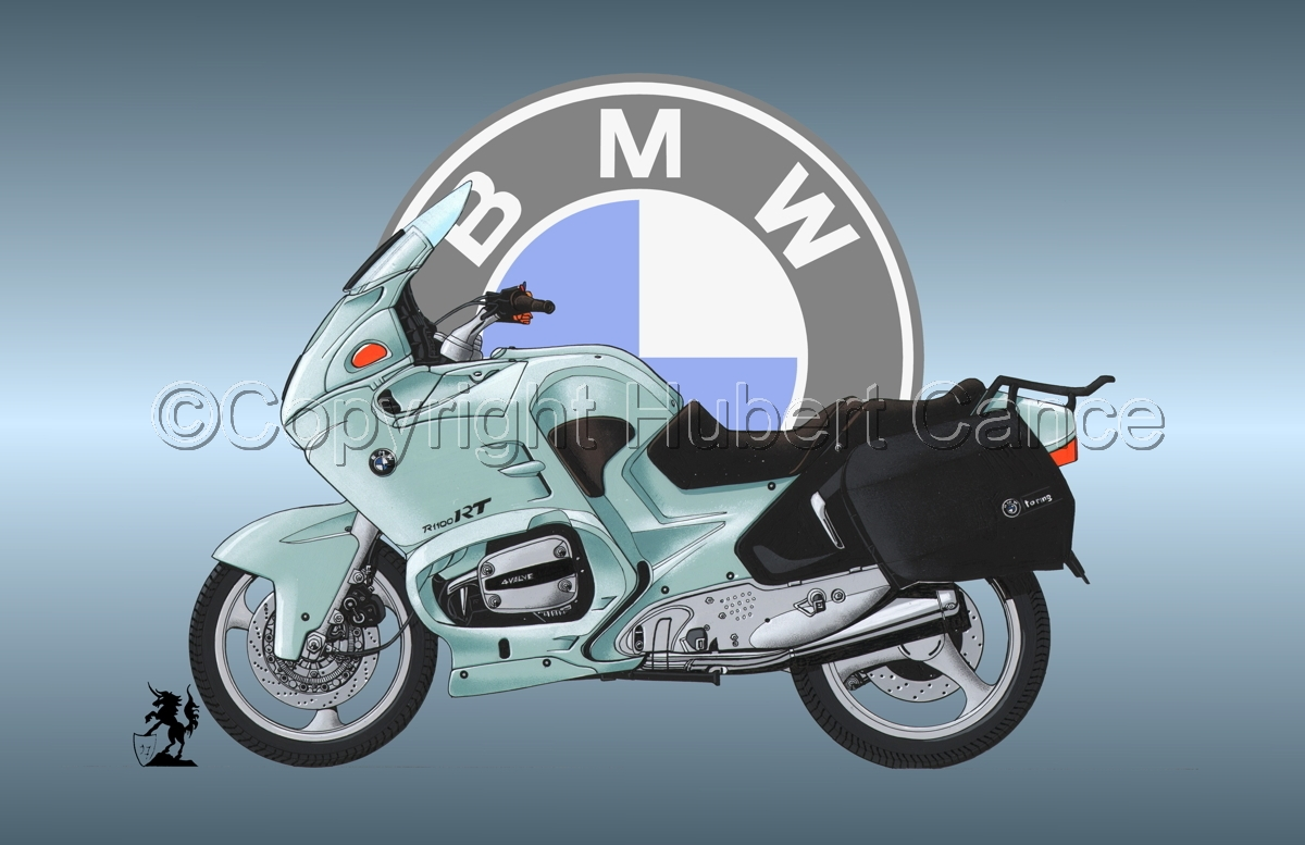 BMW R1100 RT (Logo #1) (large view)