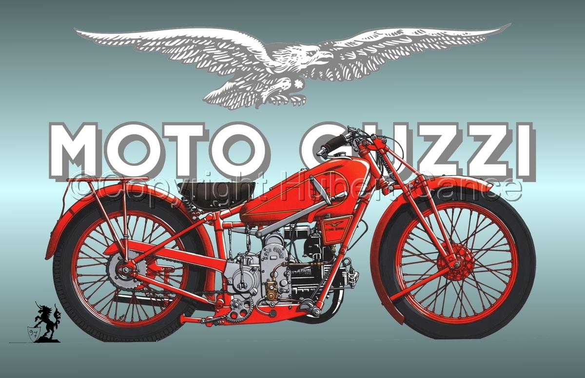 Moto Guzzi 500S (Logo #1) (large view)