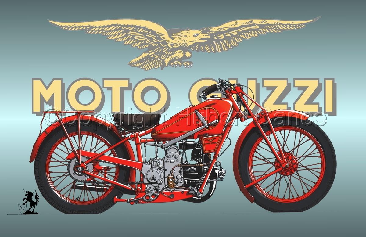 Moto Guzzi 500S (Logo #2) (large view)