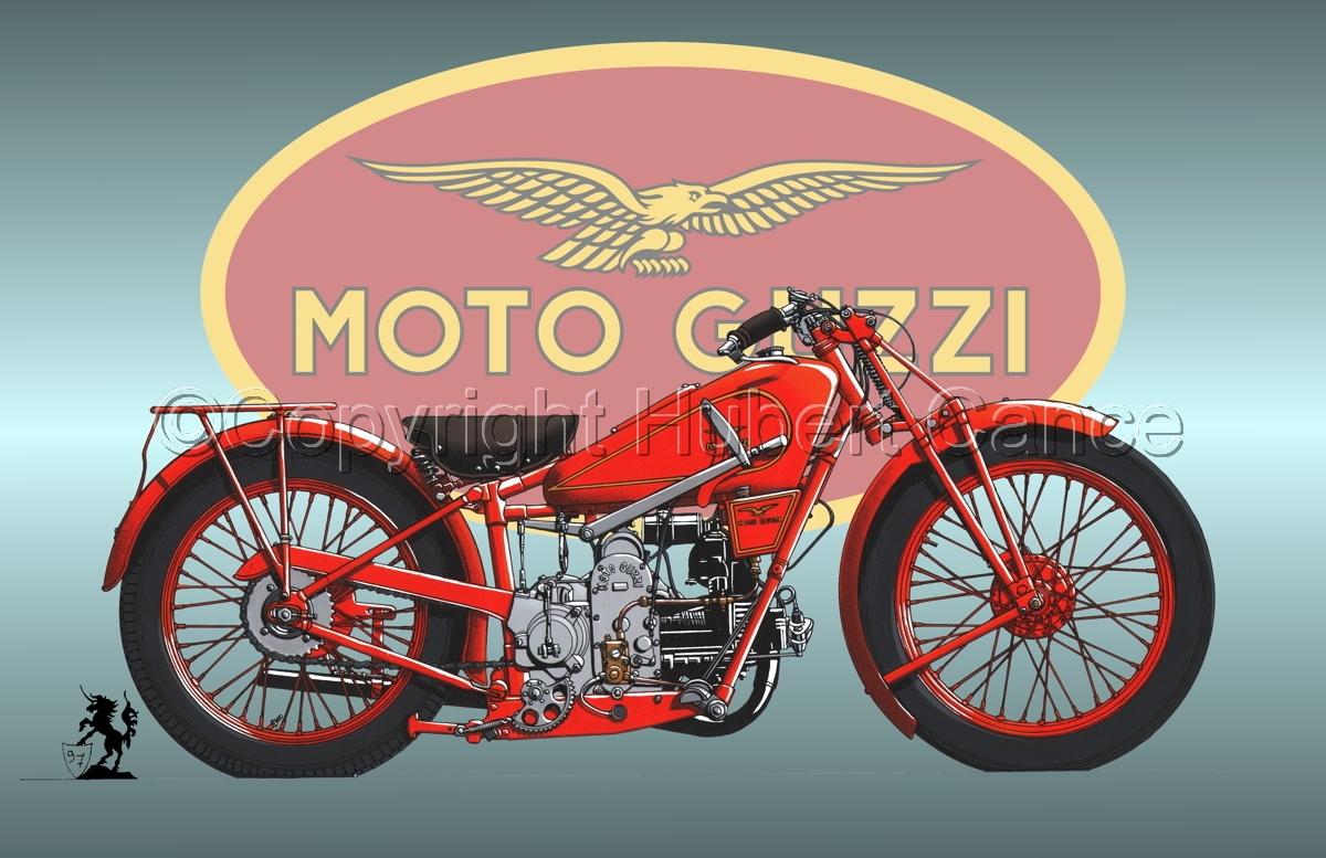 Moto Guzzi 500S (Logo #3) (large view)