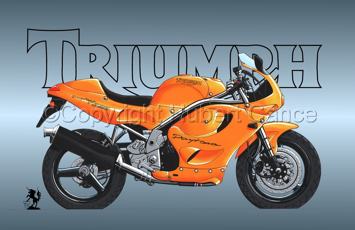Triumph T595 (Logo #1) (large view)