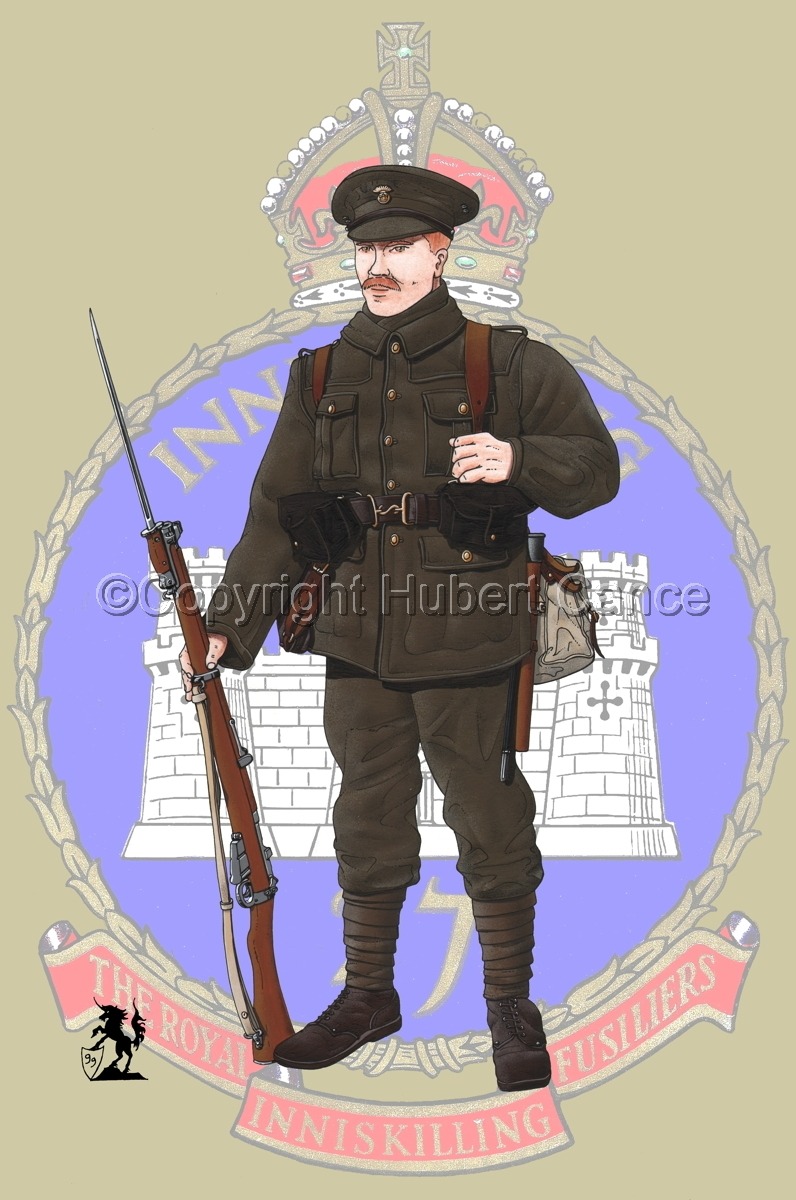 Royal Inniskilling Fusiliers (1914) (Insignia #1) (large view)