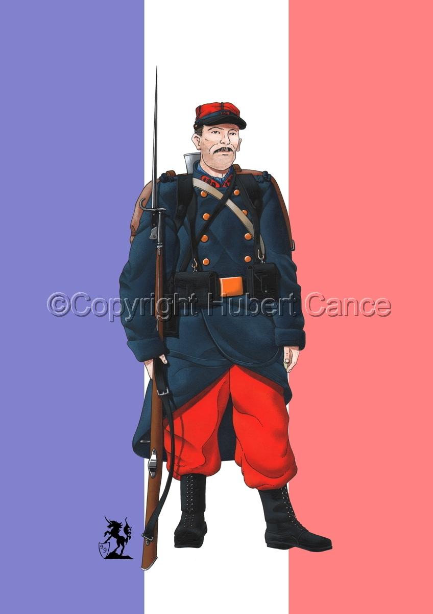 French 139eme Regiment d'Infanterie (1914) (Flag) (large view)
