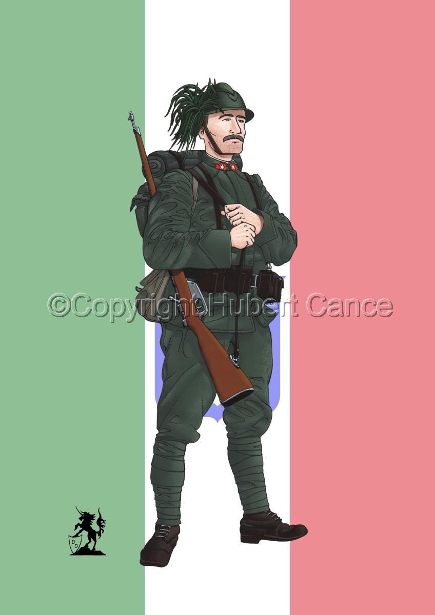 Bersaglieri (1914) (Flag) (large view)