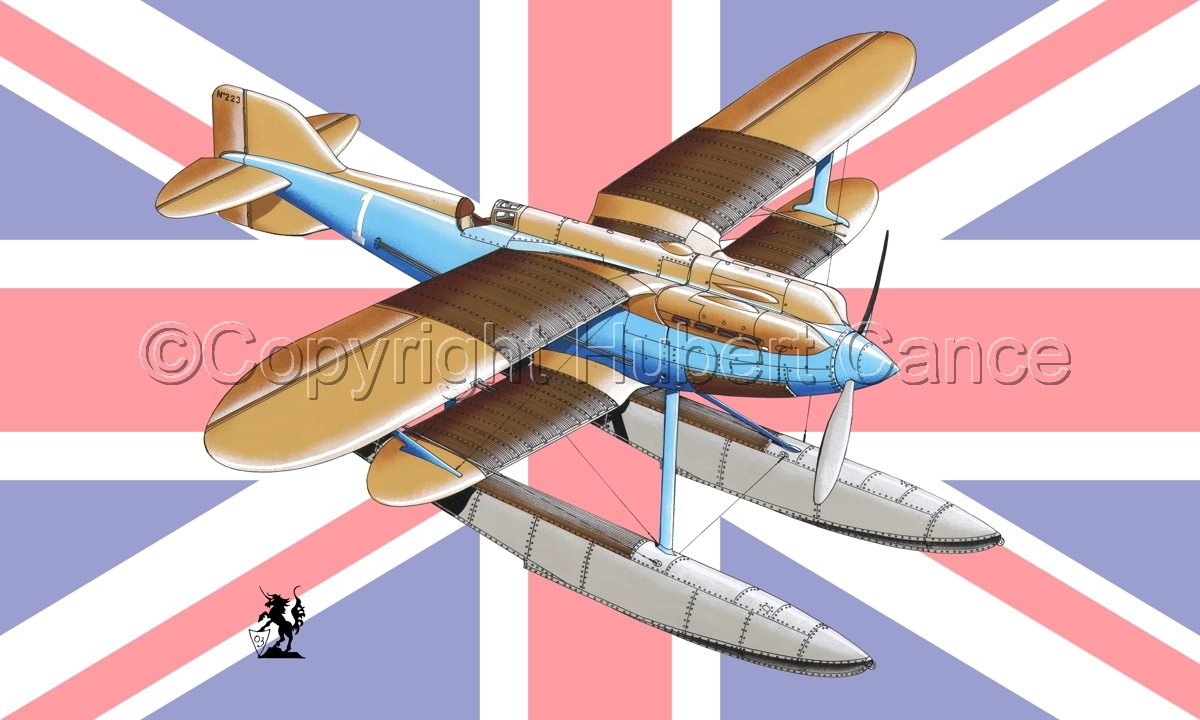 Gloster IVb Racer (Flag #1) (large view)