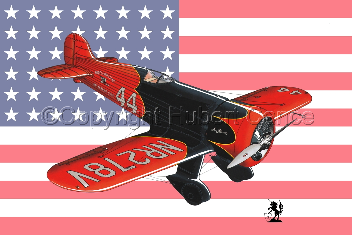 Wedell Williams R44 Racer (Flag #1) (large view)