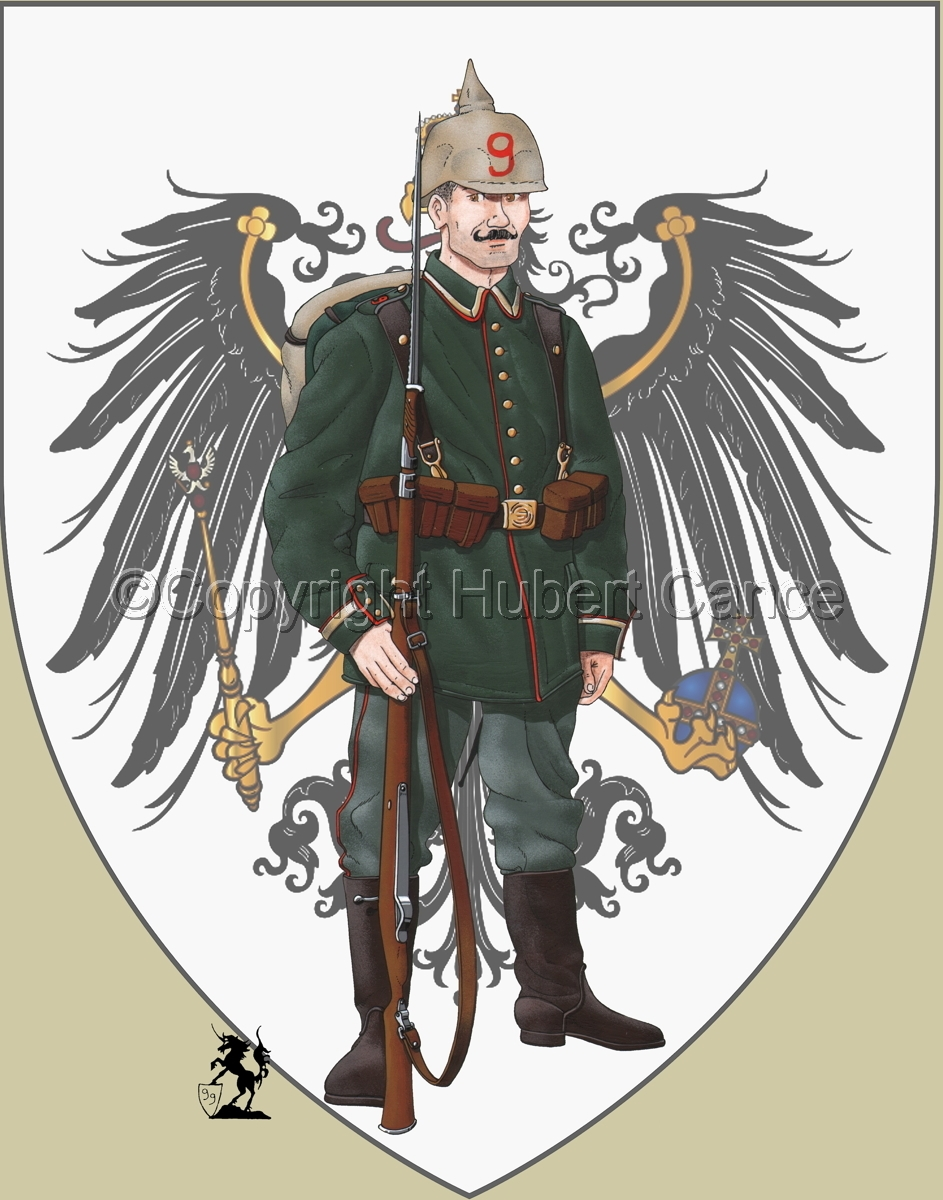 9th. Prussian Grenadier Regiment (1914) (Insignia #1) (large view)