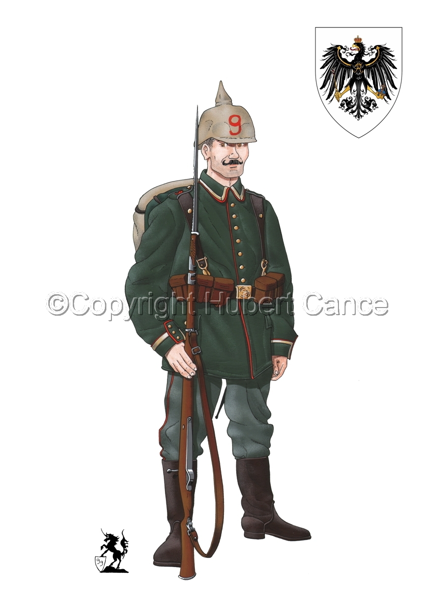 9th. Prussian Grenadier Regiment (1914) (Insignia #1.1) (large view)