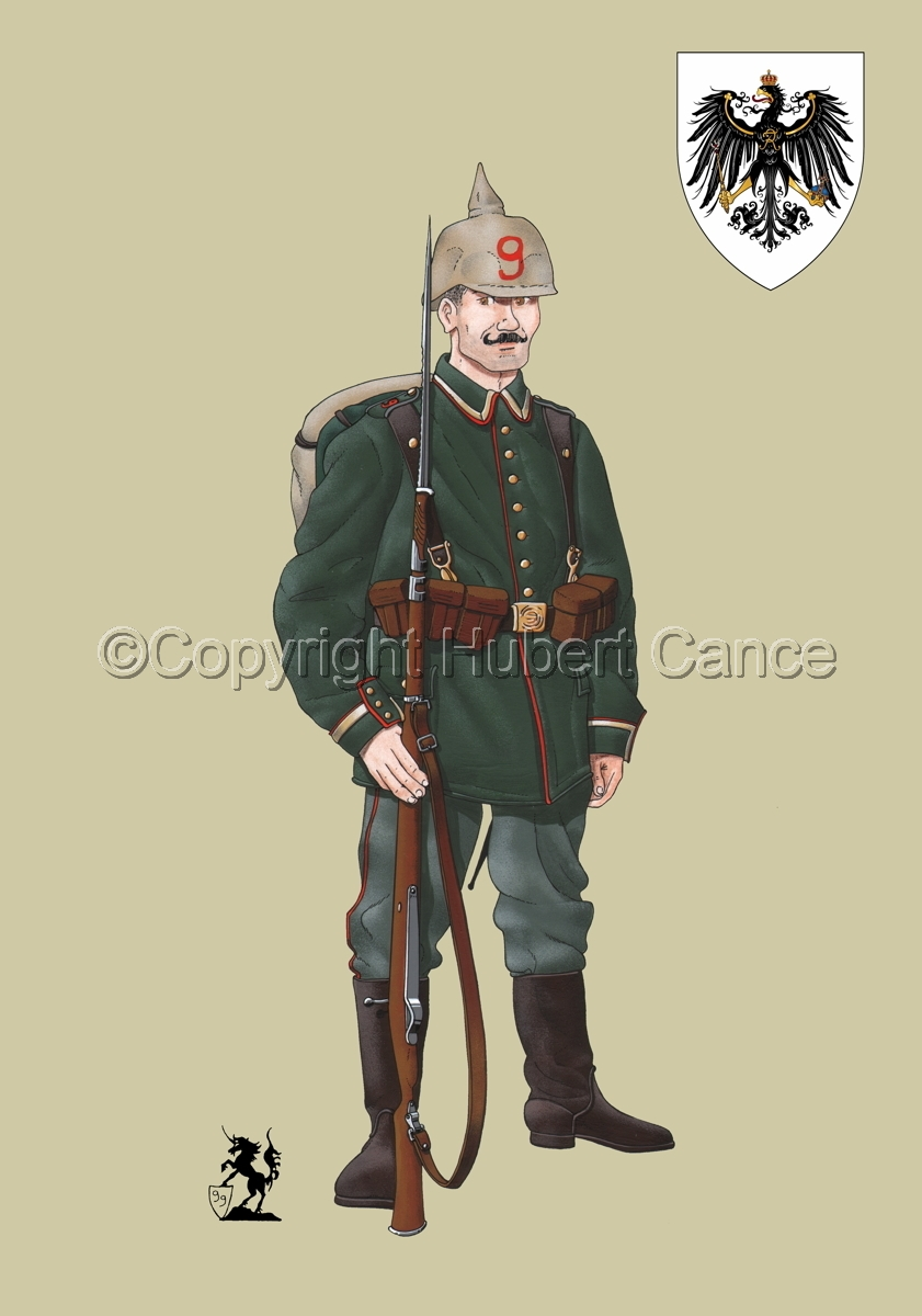 9th. Prussian Grenadier Regiment (1914) (Insignia #1.2) (large view)