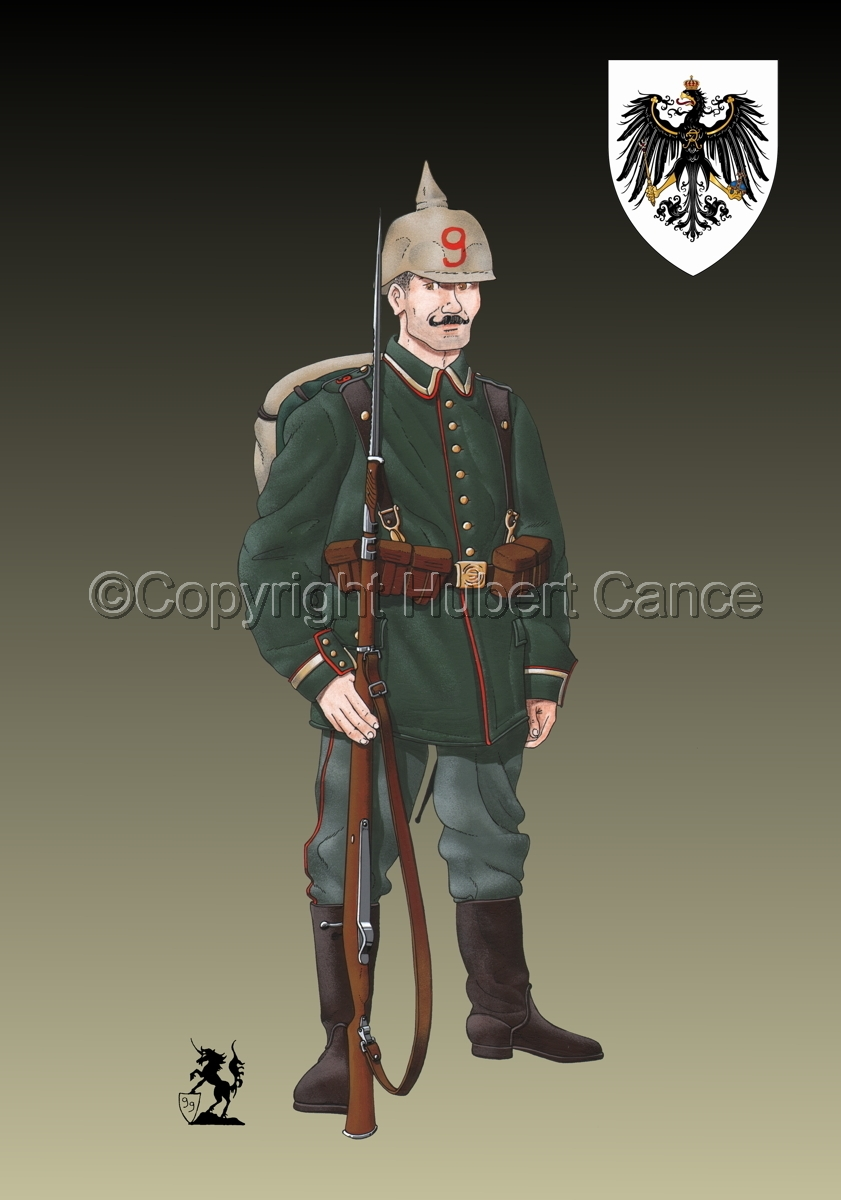 9th. Prussian Grenadier Regiment (1914) (Insignia #1.3) (large view)