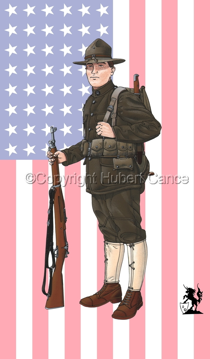 US Infantry (1917) (Flag #1) (large view)