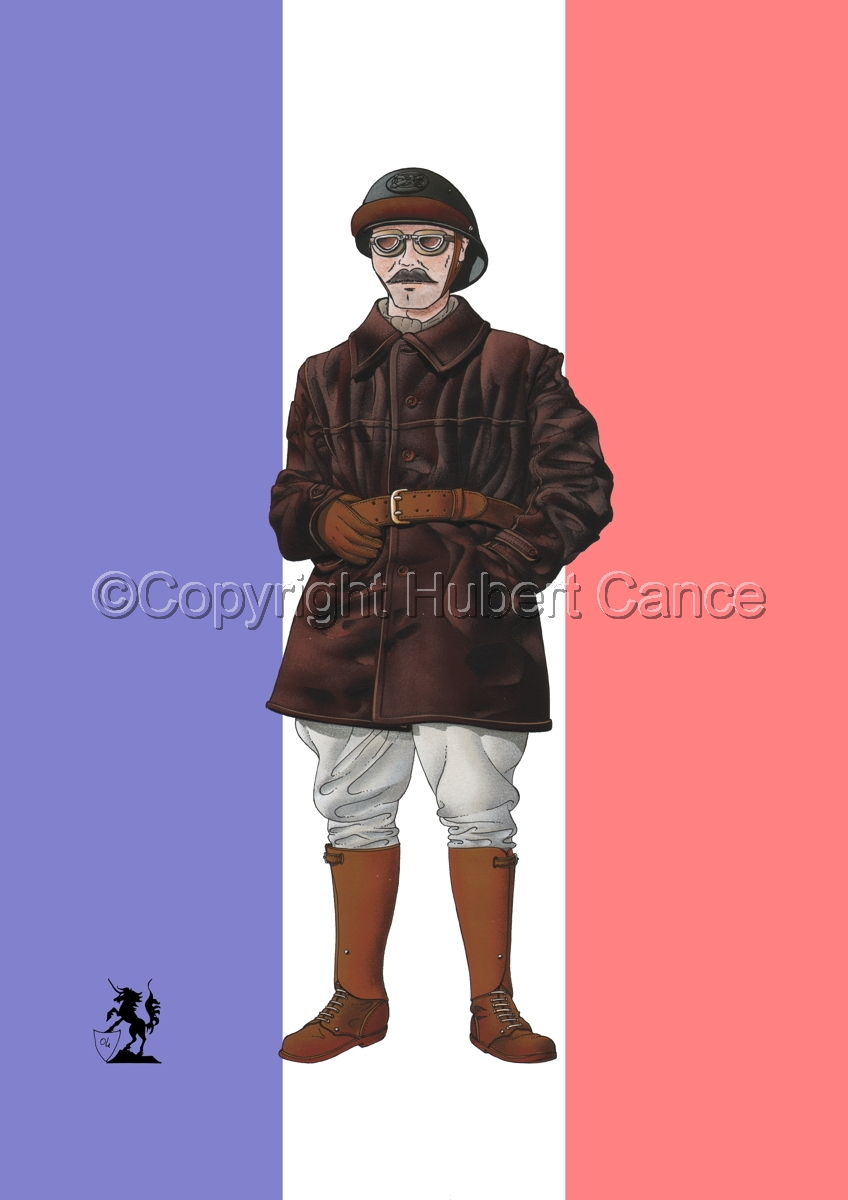 French Tank Commander (1940) (Flag) (large view)