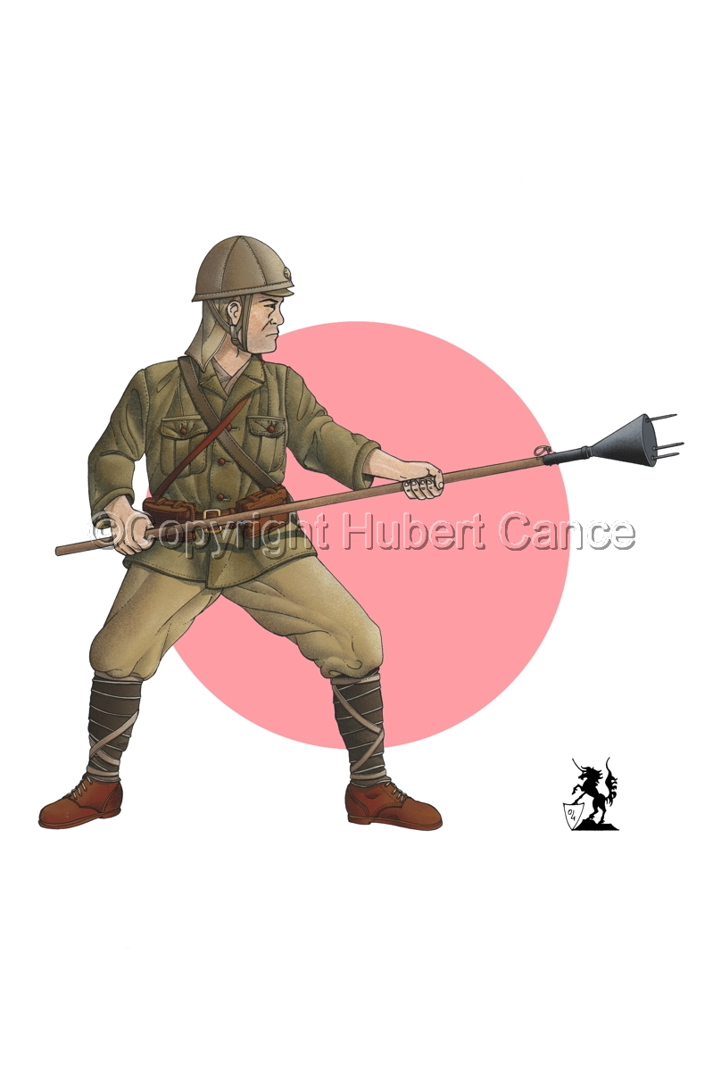 Japanese suicide soldier (1944) (Flag #1) (large view)