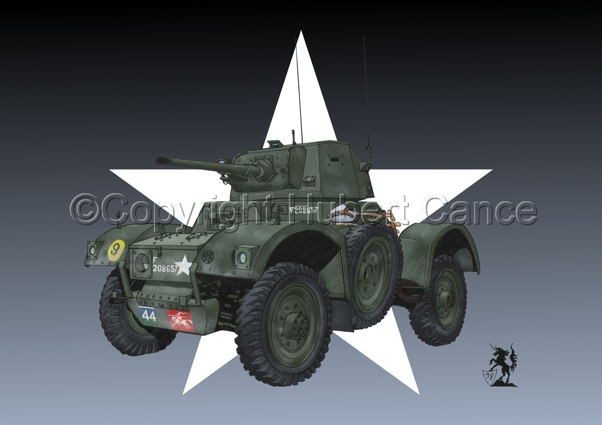 Daimler Mk.I Armoured Car (Roundel) (large view)