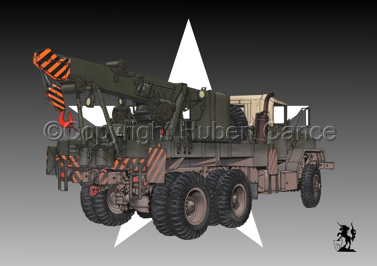 AM M936 Recovery Truck (Roundel) (large view)