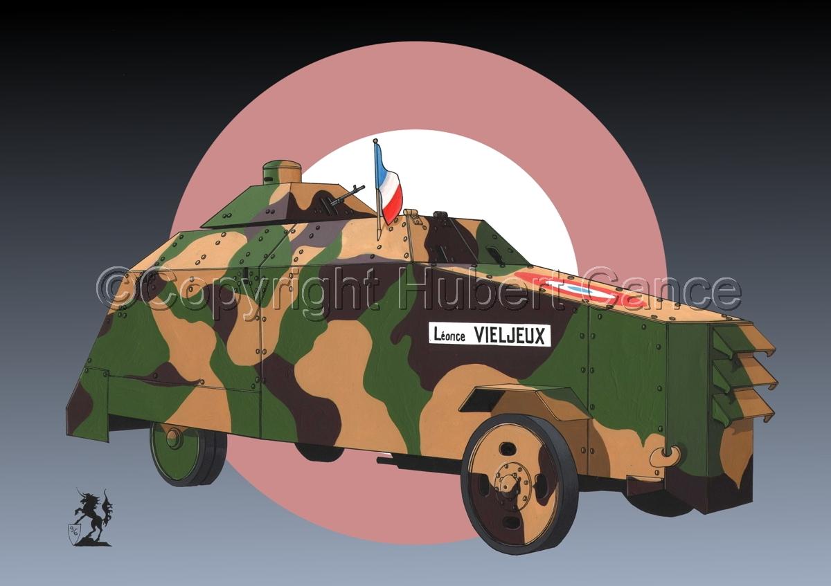 Camion blinde Improvise (Roundel) (large view)