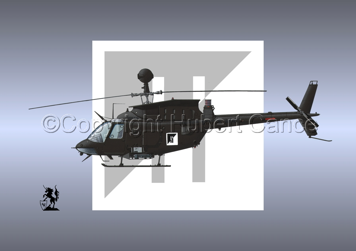 "Bell OH-58D ""Kiowa Warrior"" (Insignia #4) (large view)"