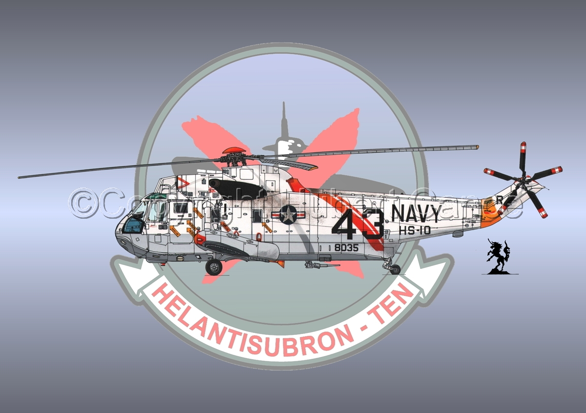 "Sikorsky SH-3H ""Seaking"" #1 (Insignia #2) (large view)"