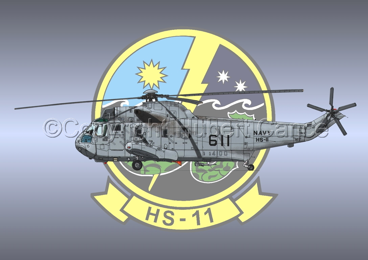 "Sikorsky SH-3H ""Seaking"" #2 (Insignia #2) (large view)"