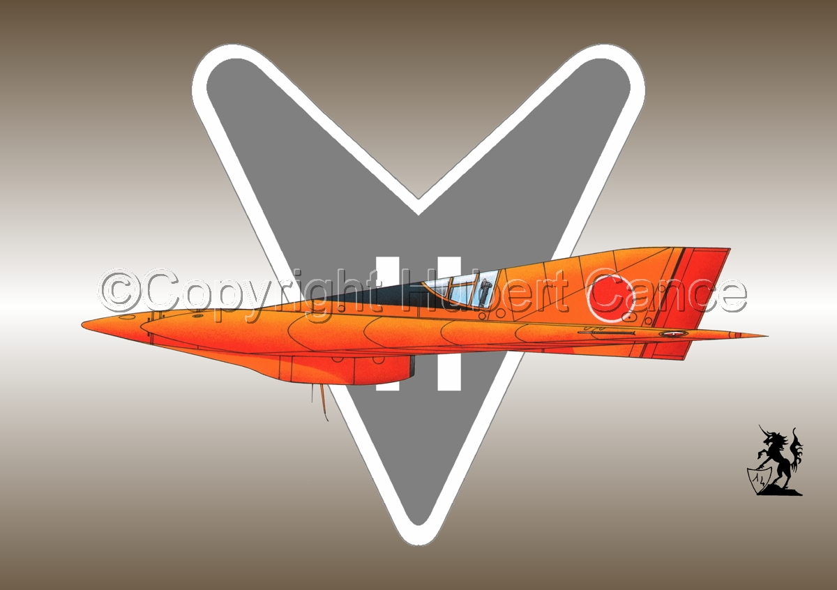 Horten Ho XIIIb Japanese Trainer (Logo #1) (large view)