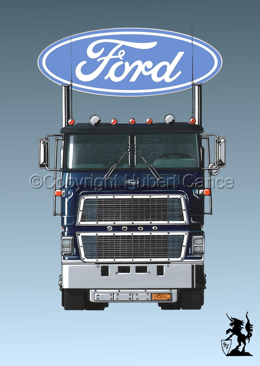 Ford CL9000 Tractor (Logo #1) (large view)