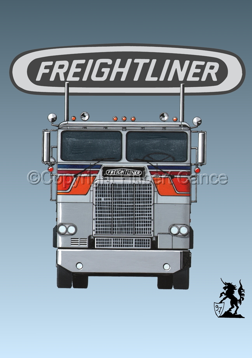 Freightliner COE Tractor (Logo #1) (large view)