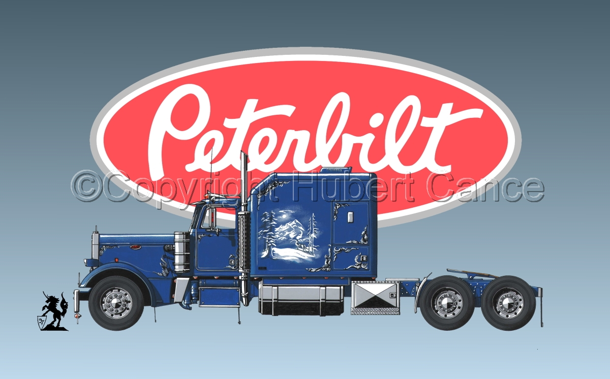 Peterbilt Tractor (Logo #1) (large view)