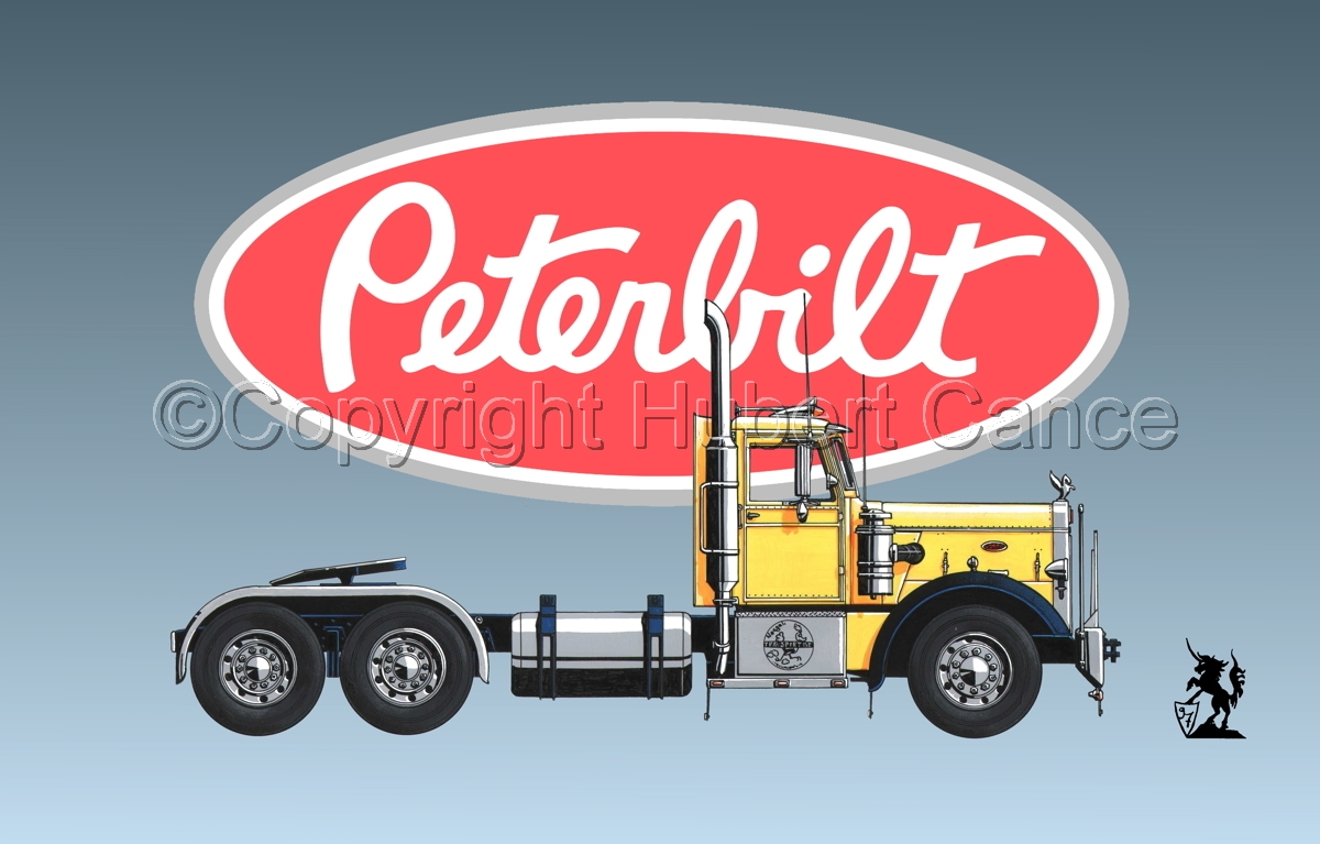 Peterbilt 351 (Logo #1) (large view)