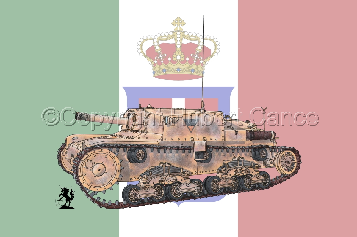 Semovente da 75/18 M13/40 (Flag) (large view)