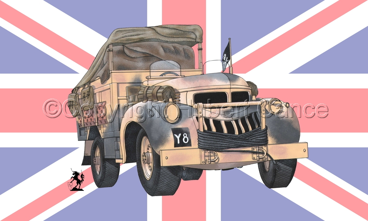 Chevrolet 1533X2 LRDG (Flag #1) (large view)